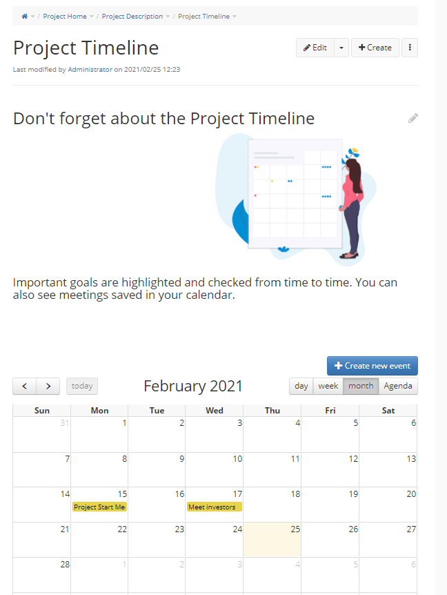 https://xwiki.com/en/download/Blog/how-to-create-project-template/WebHome/timeline-goals-events-calendar.png