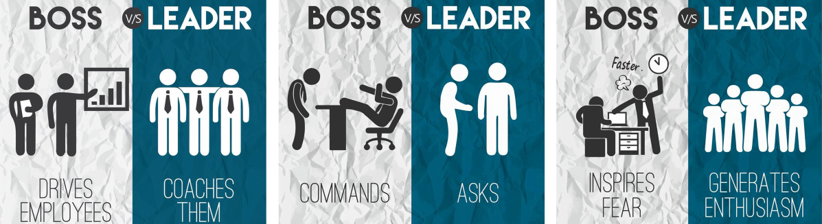 Image boss vs leader