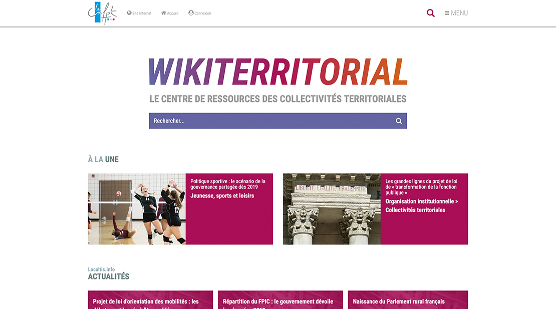 CNFPT Extranet and Communities XWiki